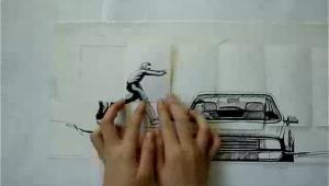 Parkour animacija