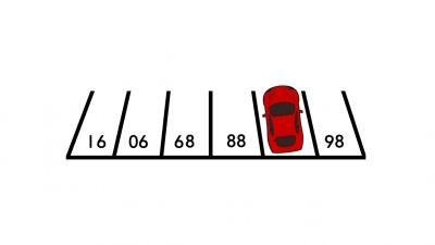 Koji se broj nalazi ispod automobila?