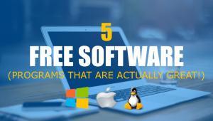 10 najboljih besplatnih programa (free software)