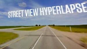 Google Street View Hyperlapse