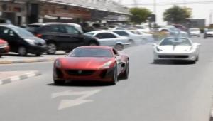 Rimac Concept_One vs Ferrari 458 Spider