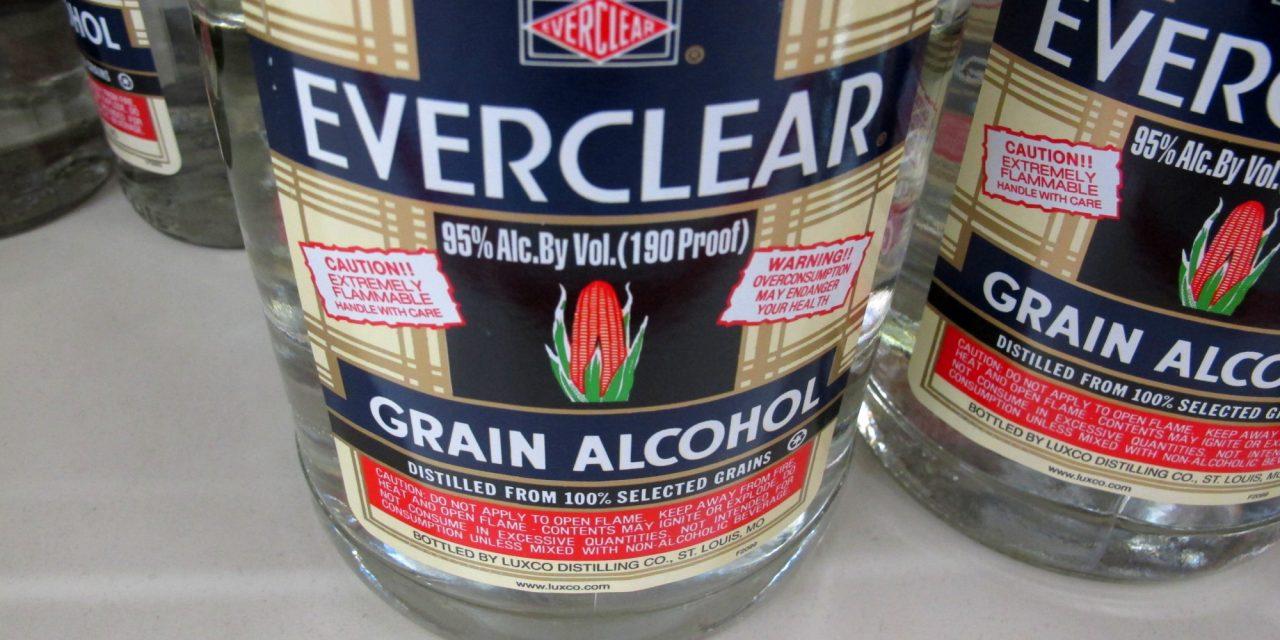 Everclear – najjače alkoholno piće