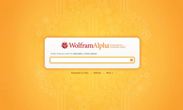 Zanimljivi načini korištenja Wolfram Alpha tražilice