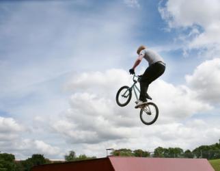 Freestyle biciklist Danny MacAskill