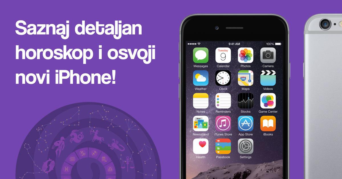Saznaj horoskop i osvoji novi iPhone!