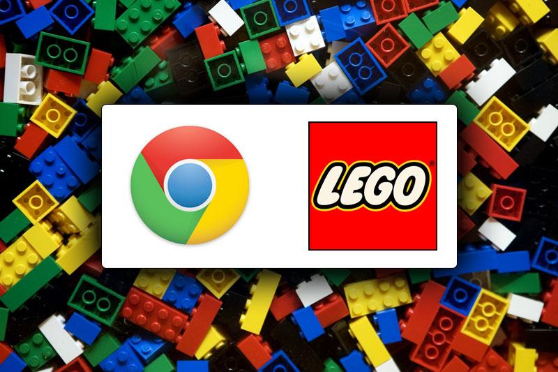 LEGO kockice na računalu