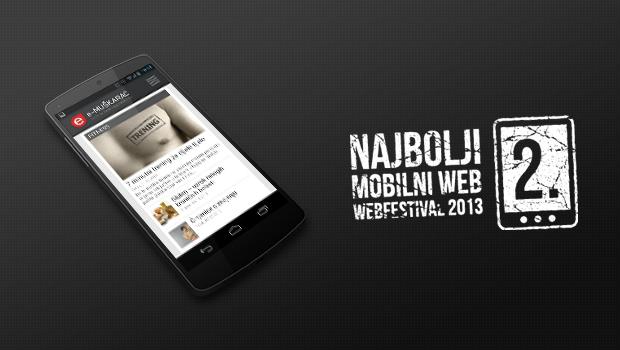 eMuškarac osvojio drugo mjesto na Webfestivalu