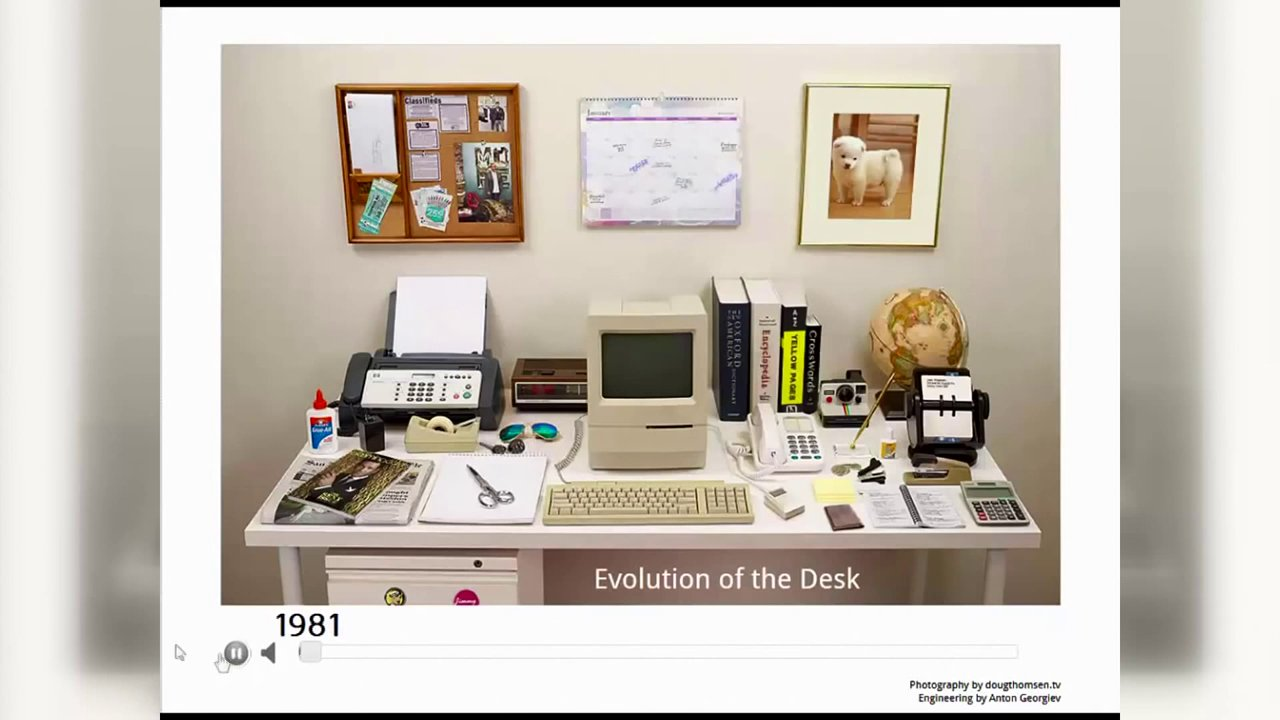 Evolucija radnog stola