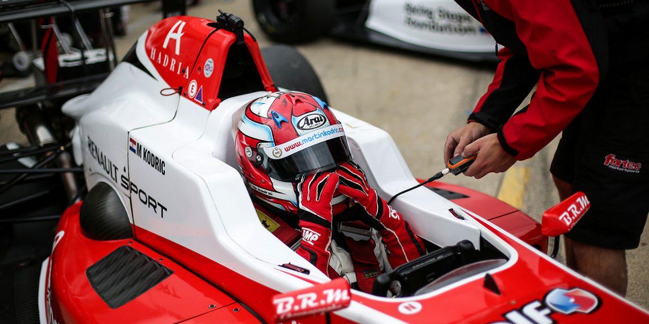 Martin Kodrić ostvario fantastičan rezultat u Formula Renault Eurocup-u