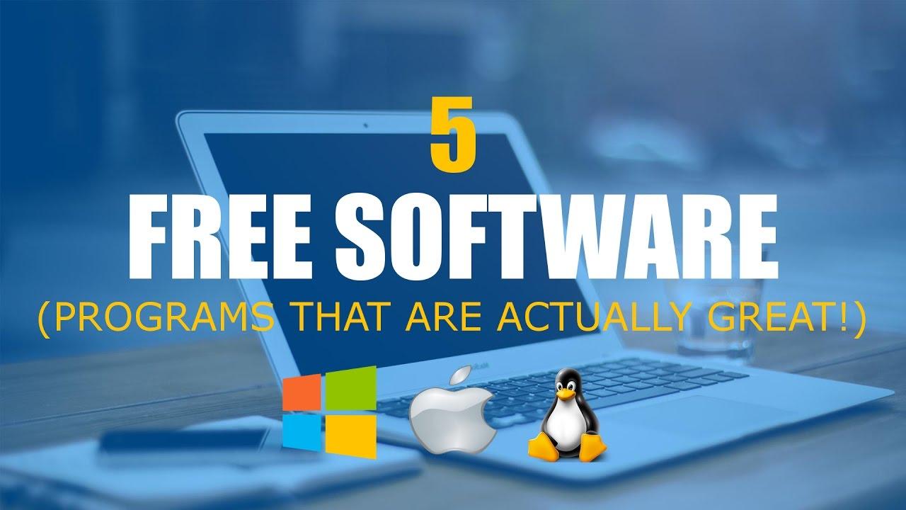 5 najboljih besplatnih programa